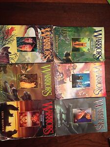 Huge collection of Warriors and Seekers books!