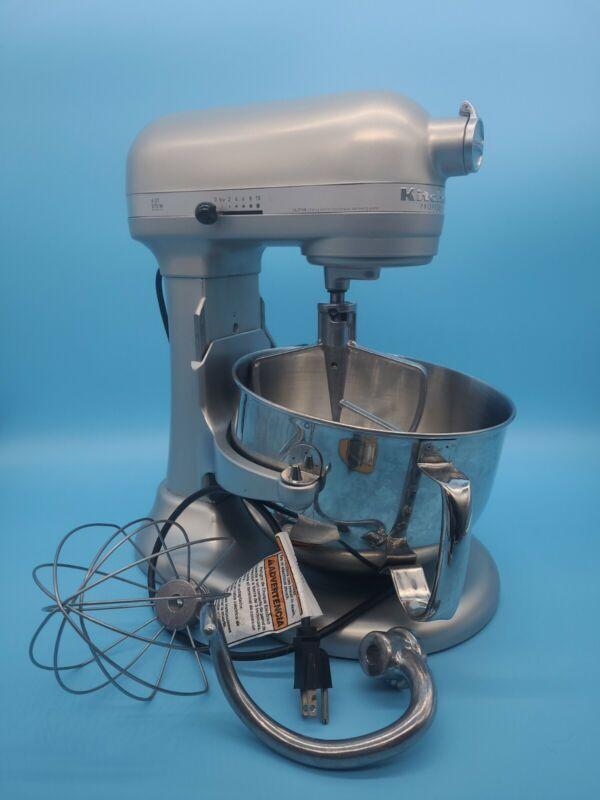 ThriftCHI ~ KitchenAid Professional 600 Stand Mixer 6 qt Gray Big Capacity NICE