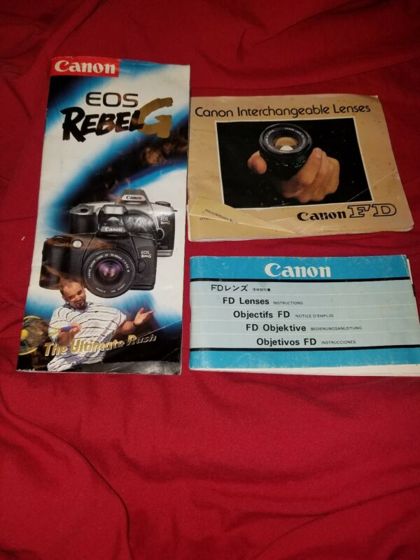 Canon Camera User Guide Instruction Manuals.