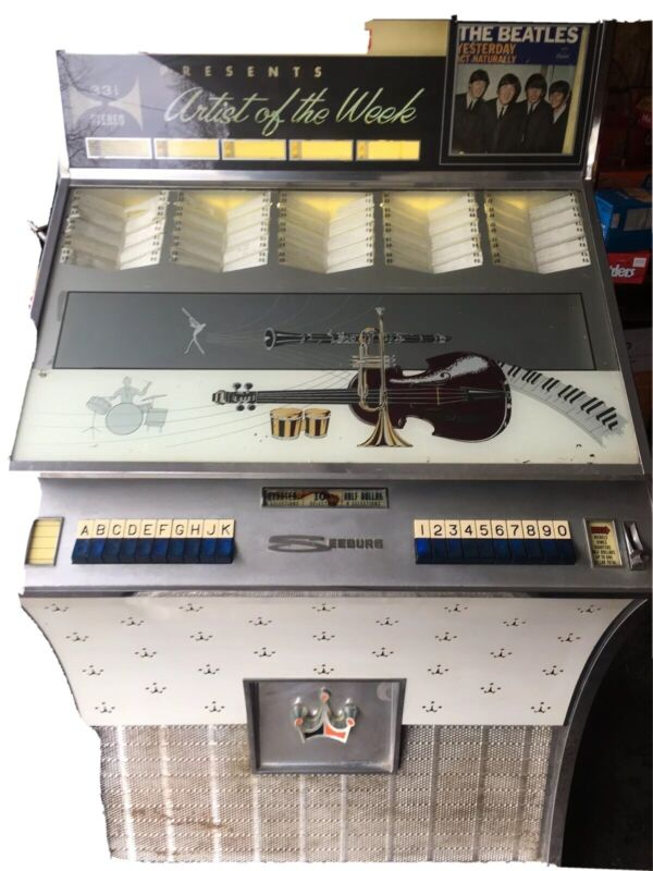 1961 Seeburg Select-O-Matic DS100H Jukebox