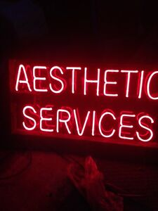 Aesthetic Services neon sign