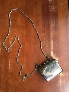 Vintage Handbag - Metal Evening Purse/Clutch