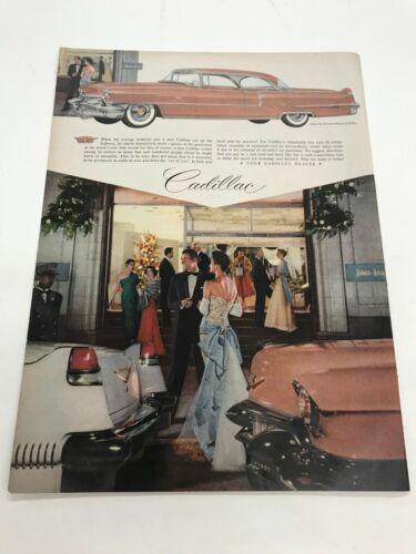Cadillac vintage  automobile advertisement  1956-1957 ? ad