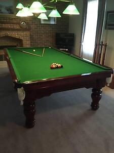 Harry Evans & Sons 10ft Billiard Table Bulleen Manningham Area Preview