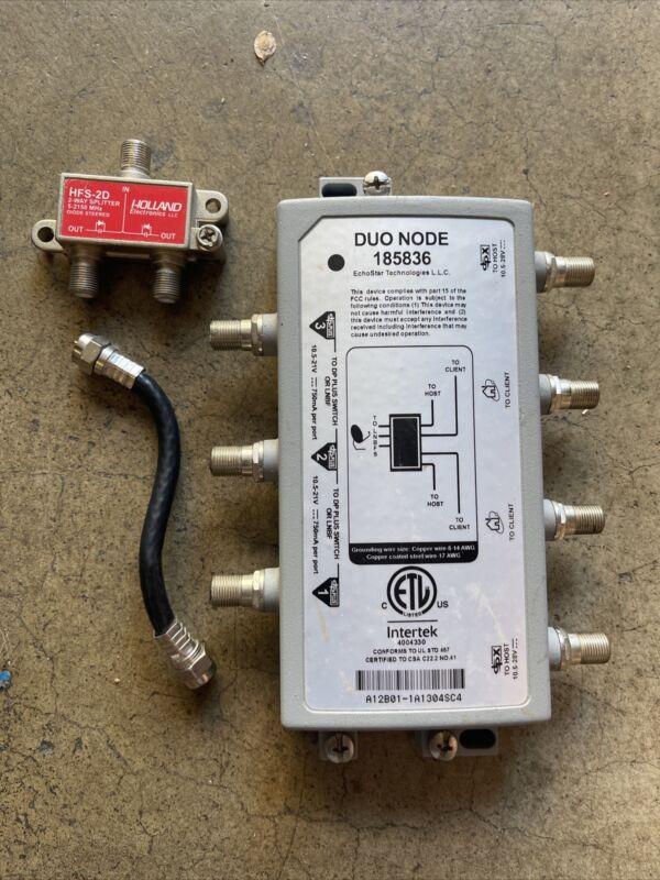 DUO NODE 185836 DISH Hopper/Joey by EchoStar Technologies with splitter