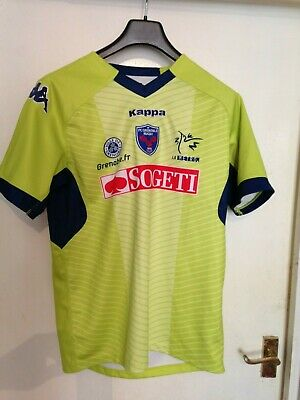 GRENOBLE FRANCE RUGBY SHIRT RUGBY JERSEY - LARGE - STYLISH COLOURS- FRENCH (French Rugby Jersey)