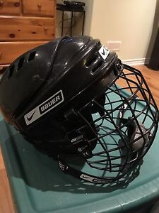Bauer ice hockey helmet