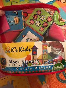 Baby learning soft blocks toy