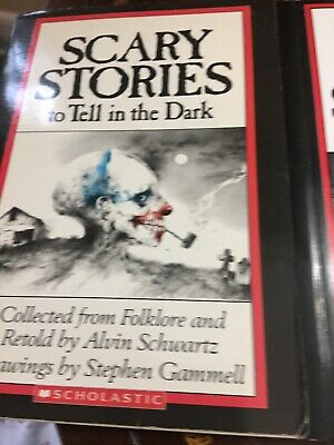Spooky Kid Stories (Scary Stories To Tell In The Dark (Set 1,2,3) ORIGINAL Drawings Books Spooky)
