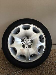 "HOLDEN GENUINE VT CALAIS INTERNATIONAL 17"" RIM & TYRE (ONE ONLY) Fulham Gardens Charles Sturt Area Preview"
