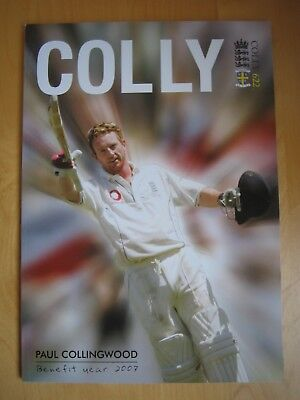 Paul Collingwood Benefit Year 2007 Testimonial Magazine Colly 622