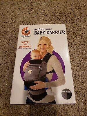Ergo baby Performance Carrier With Original Box FREE SHIPPING!