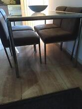 Coco republic Macrosuede dining chairs X 4 Armidale City Preview