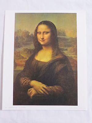 La Jocande MONA LISA Leonardo Da Vinci Art PRINT Les Éditions Braun Paris 11601