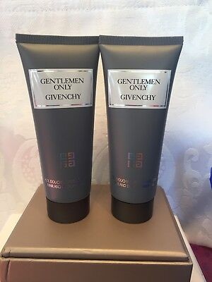 Man Scented Shower Gel (Givenchy Gentleman Only Scented Hair & Body Shower Gel for Men 2.5oz Each X)
