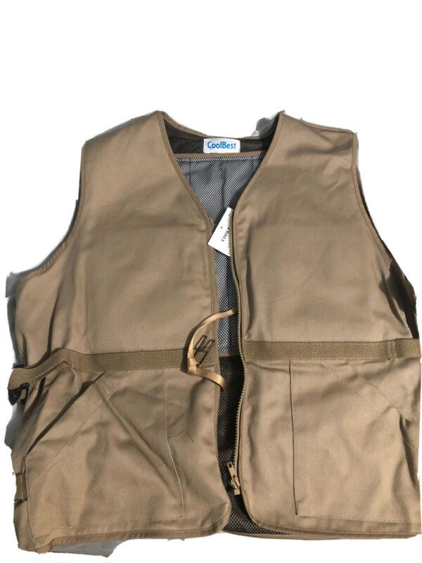 Ice Pack Cooling Vest Outdoor Adjustable
