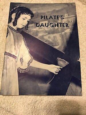 Pilate's Daughter, Mission Church, Boston, Mass. !958 Theatre Program