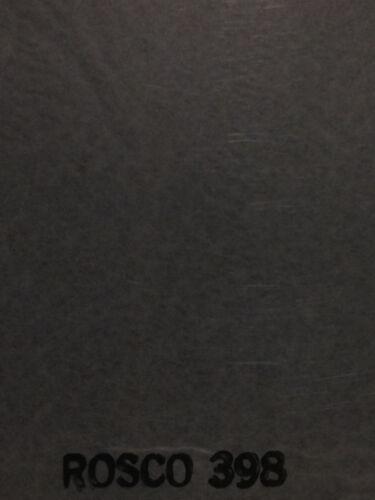 """Rosco R398 Neutral Grey Gel lighting Gel Sheet  20"""" x 24"""""""