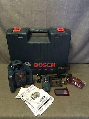 Bosch Grl 240 Hv 800ft Self Leveling Laser Whard Case