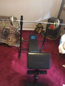 Energetics BB 30 exercise bench for home
