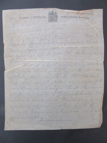 1914 WW1 Telegraph Bulletin Fighting In Ysers Artillery Duels Poland f1-11
