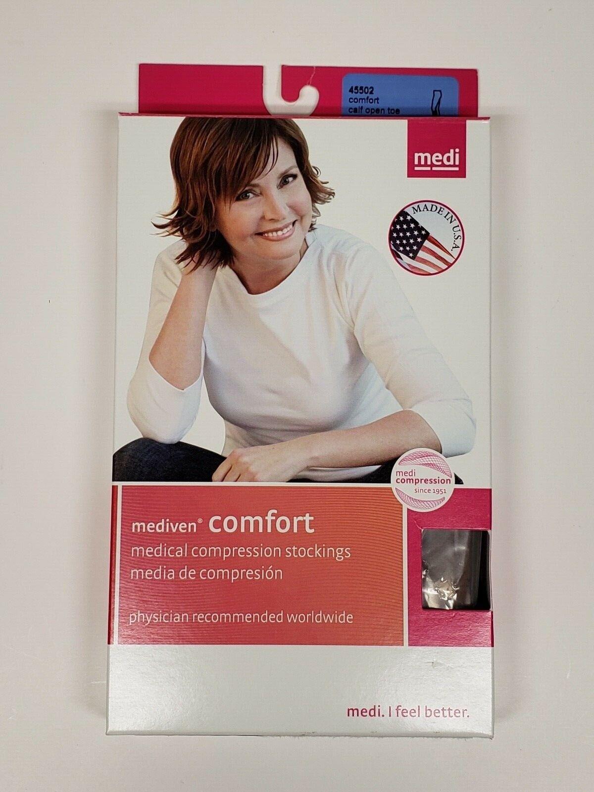 Mediven 45502 Comfort 15-20 mmHg OPEN TOE Compression Socks