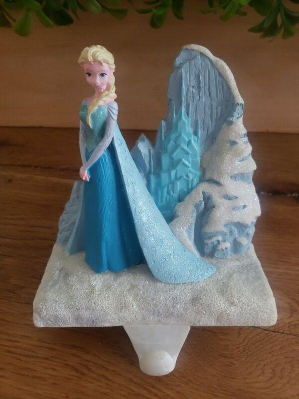 Walt Disney FROZEN Elsa Snow Queen Christmas Stocking Holder