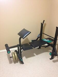 Weight lift bench