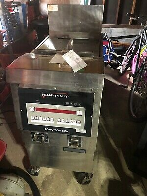 Henny Penny Pressure Fryer Computron 8000 Top Base Attachment Not Included