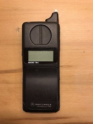 Motorola Micro T-A-C International 7200 Vintage Retro Brick Mobilephone Unlock