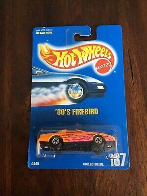 HOT WHEELS  BLUE CARD COLLECTOR #  167   '80'S   FIREBIRD