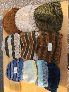 Handmade premium brand new infant and baby knitted hats!