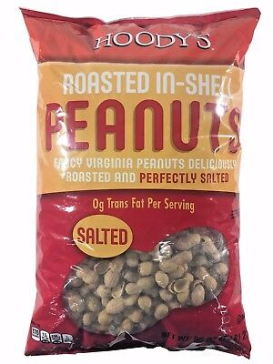 Peanuts Salted Shell - Hoody's Roasted In-Shell Peanuts Salted 5 lb