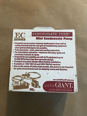 Little Giant Ec-400 115v Mini Condensate Pump