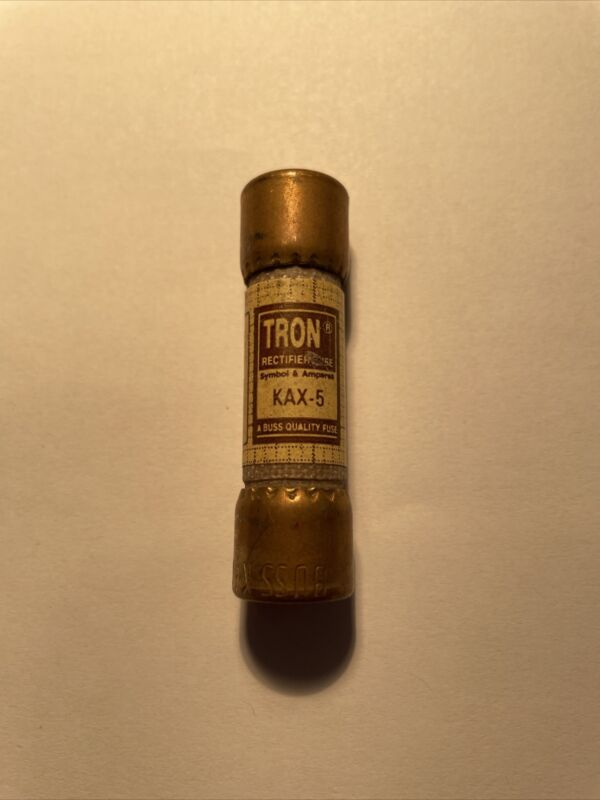 Pack of 1 Tron Bussmann KAX-5 Fuses