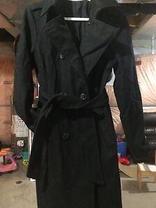 Gap black dress coat