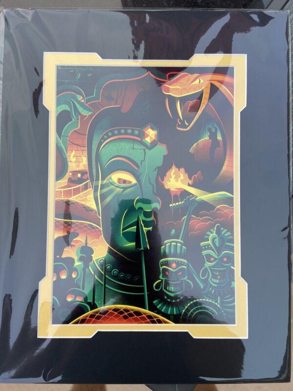 Disney WonderGround You Had To Look Didn't You Indiana Jones Print Jeff Granito