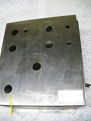 Hoffman 14x12x6 Stainless Steel Enclosure Junction Box A-1412chnfss