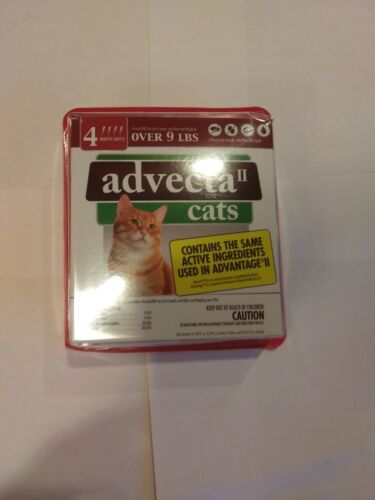 Advecta for Cats over 9 lbs 4 month supply  free shipping