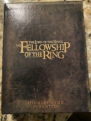 The Lord of the Rings The Fellowship Of The Ring DVD 4-Disc Set Extended