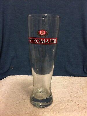 vintage PA Wilkes Barre  Stegmaier pilsner glass