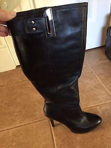 Black Nine West boots - size 8.5