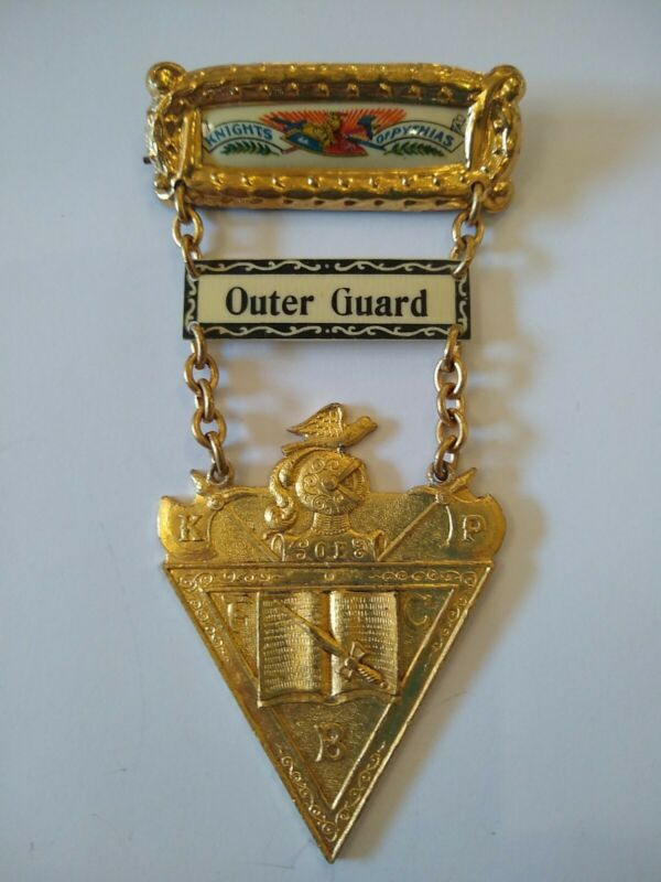 Outer Guard Knights of Pythias Medal