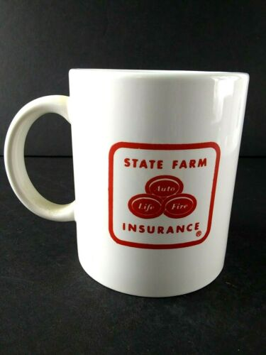 State Farm Insurance Coffee Cup Mug Advertising