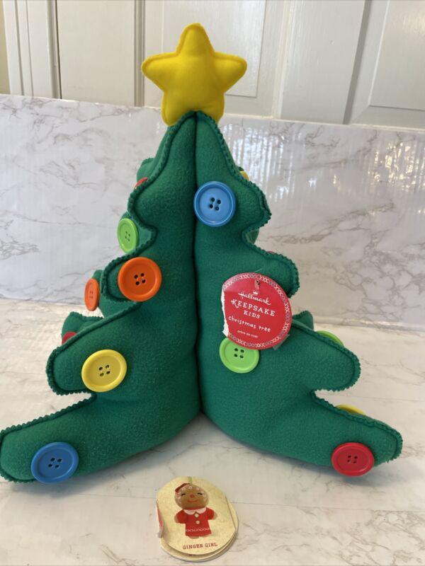 "Hallmark Keepsake Kids ""PLUSH"" My Very Own Christmas Tree (NEW w/ Tag)  15"" Tall"