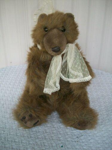"1983 Carousel ~ Plush Bear by Guy ~ 16"" Tall"