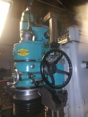 Moore G18 No 3 Jig Grinder Air Head 40000 Rpm 24x11 Table Riser Blocks