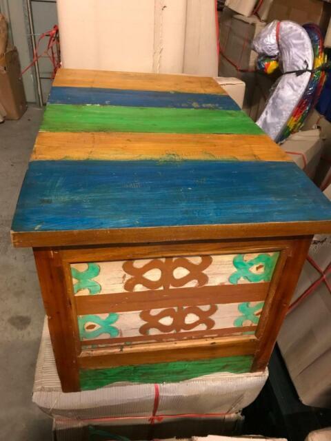 Brand New Teak Wood Coffee Table 47 Box Below Cost