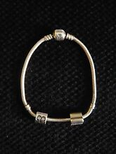 Pandora Sterling Silver Bracelet with Charms Riverhills Brisbane South West Preview