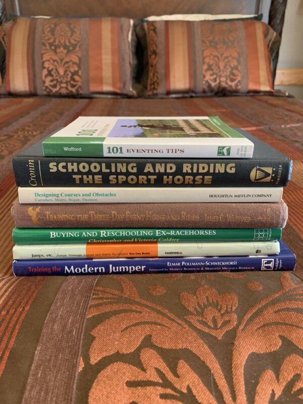 Horse Eventing / Jumping Training Book Lot